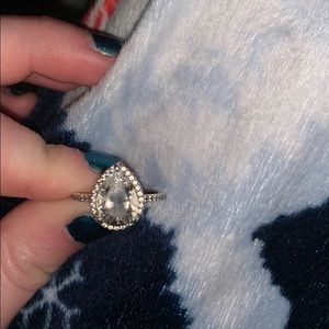 Pandora pear shaped ring!